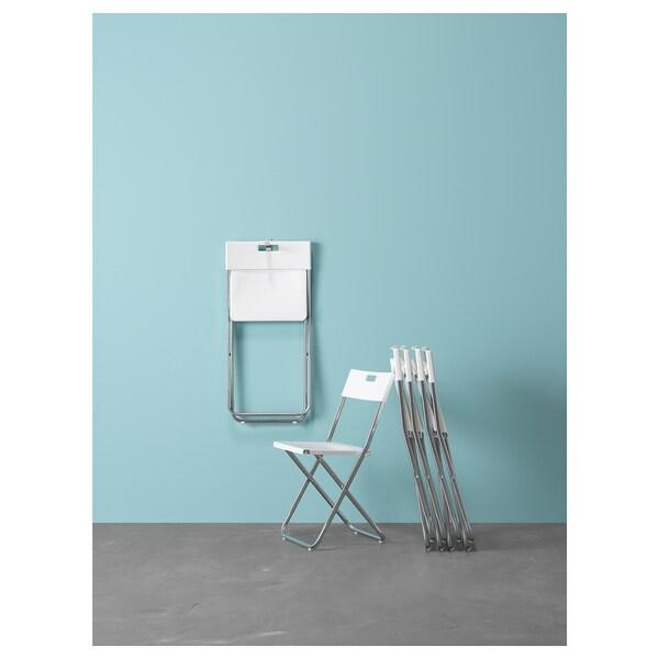 GUNDE pliante GUNDE blanc Chaise Chaise pliante GUNDE pliante blanc Chaise EI2H9D