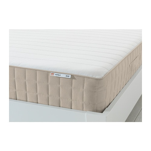 hafslo matelas ressorts 160x200 cm mi ferme beige ikea. Black Bedroom Furniture Sets. Home Design Ideas