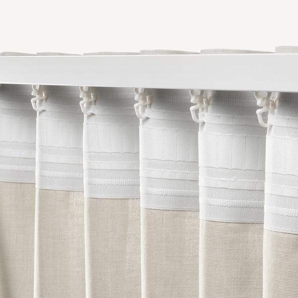 HANNALILL Rideaux, 2 pièces, beige, 145x300 cm