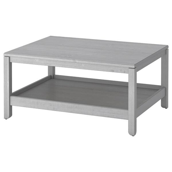 HAVSTA Table basse, gris, 100x75 cm