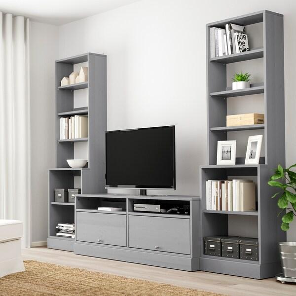 HAVSTA combinaison meuble TV gris 282 cm 47 cm 212 cm 20 kg