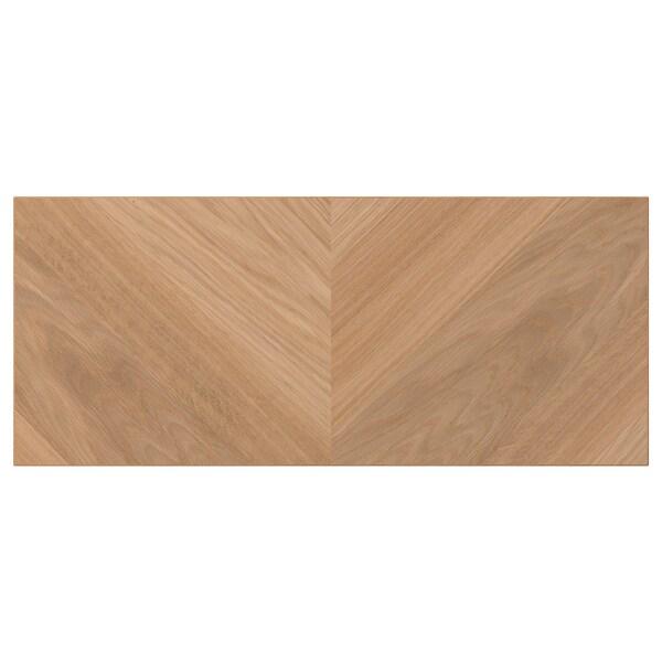 HEDEVIKEN Face de tiroir, plaqué chêne, 60x26 cm