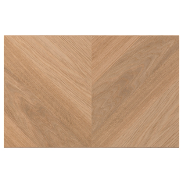 HEDEVIKEN Porte/face de tiroir, plaqué chêne, 60x38 cm
