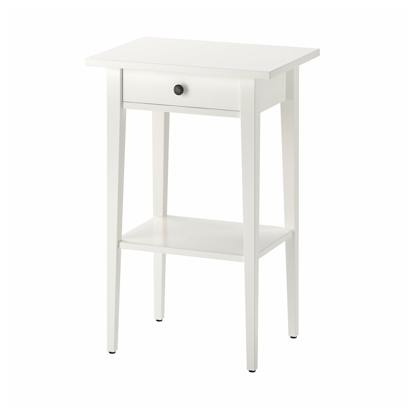 Ikea Table De Nuit hemnes table de chevet - blanc 46x35 cm