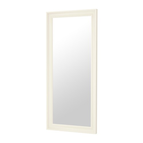 Hemnes miroir blanc ikea for Miroir noir review
