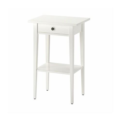 Hemnes Table De Chevet Brun Noir Ikea