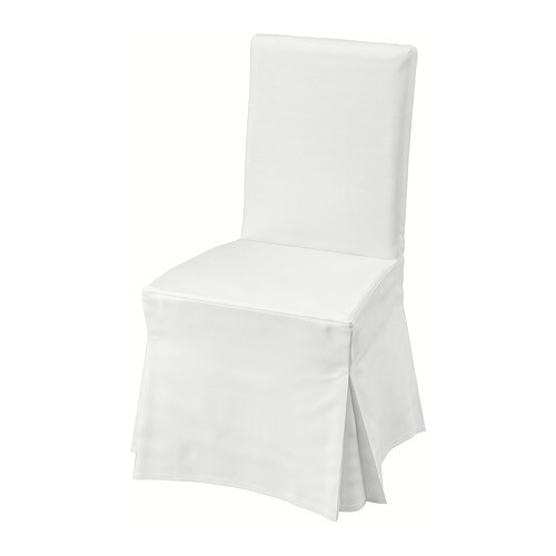 Blanc Henriksdal Chaise Avec Housse LongueBlancBlekinge 54AL3qRj