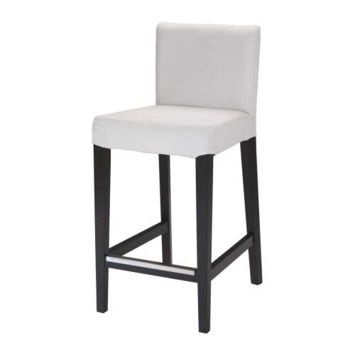 henriksdal tabouret bar avec struct dossier 63 cm ikea. Black Bedroom Furniture Sets. Home Design Ideas