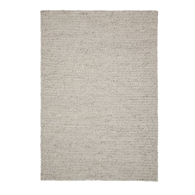 HJORTSVANG Tapis, fait main/blanc cassé, 160x230 cm