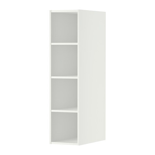 h rda rangement ouvert blanc 20x37x80 cm ikea. Black Bedroom Furniture Sets. Home Design Ideas