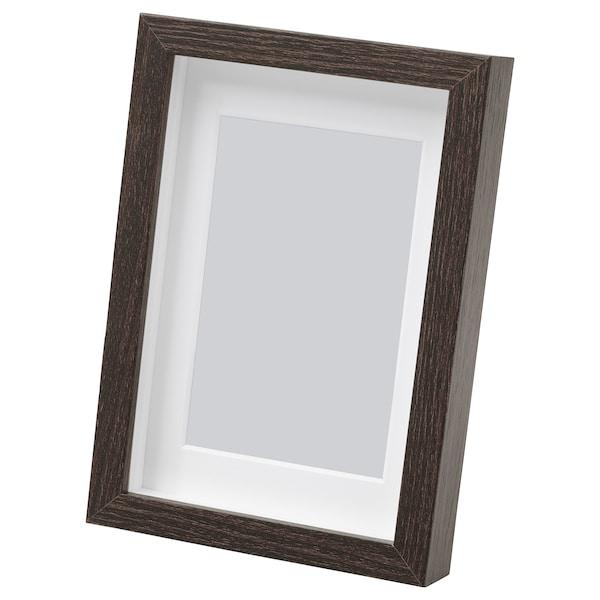 HOVSTA Cadre, brun foncé, 10x15 cm