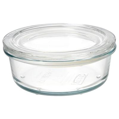 IKEA 365+ boîte de conservation verre 6 cm 14 cm 400 ml