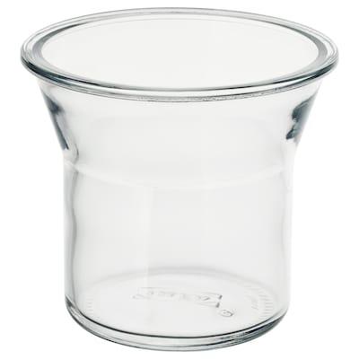 IKEA 365+ Bocal, rond/verre, 1.0 l