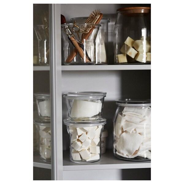 IKEA 365+ Boîte de conservation, verre, 600 ml