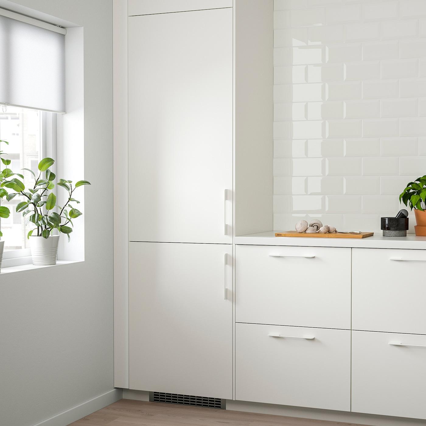 ISANDE Réfrigérateur/congélateur encas A++, No Frost blanc, 192/61 l