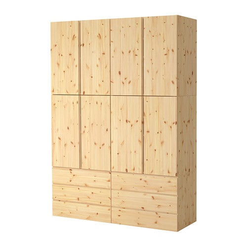 Ivar combinaison de rangement ikea - Ikea panier de rangement ...