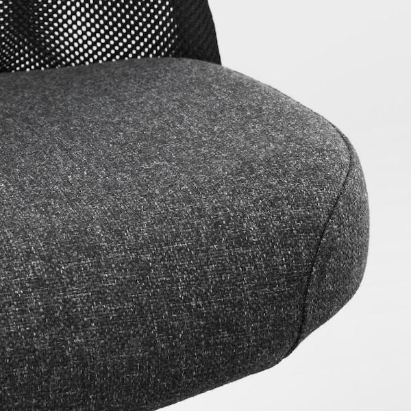 JÄRVFJÄLLET Chaise de bureau, Gunnared gris foncé