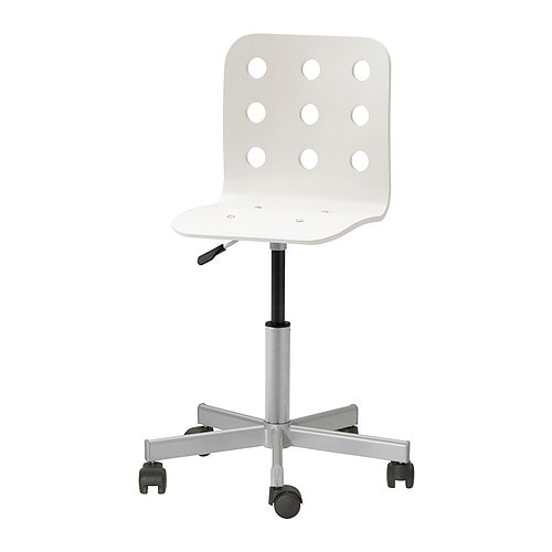 Chaise En Bois Ikea : IKEA White Desk Chair