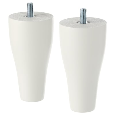 KABBARP Pied, blanc, 10 cm