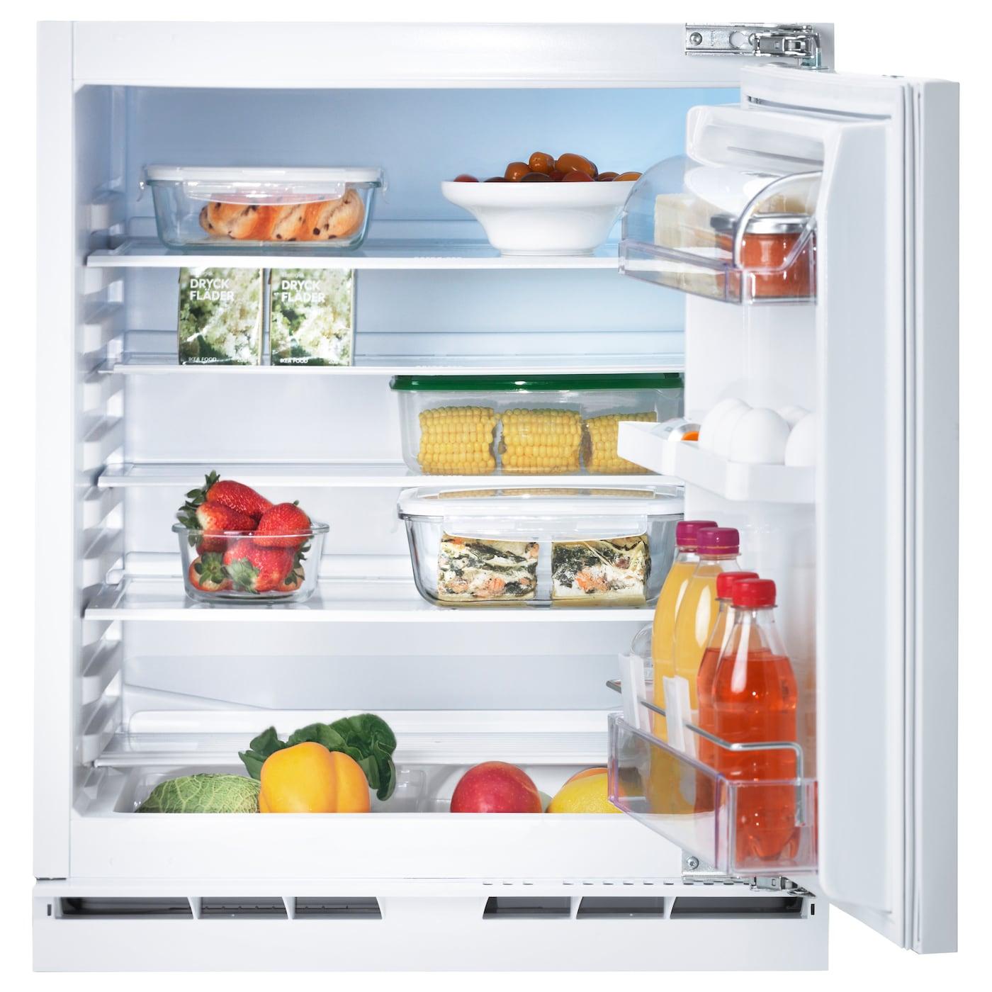 Dimension Frigo Encastrable Ikea kallnat réfrigérateur encastrable a++ - blanc 144 l