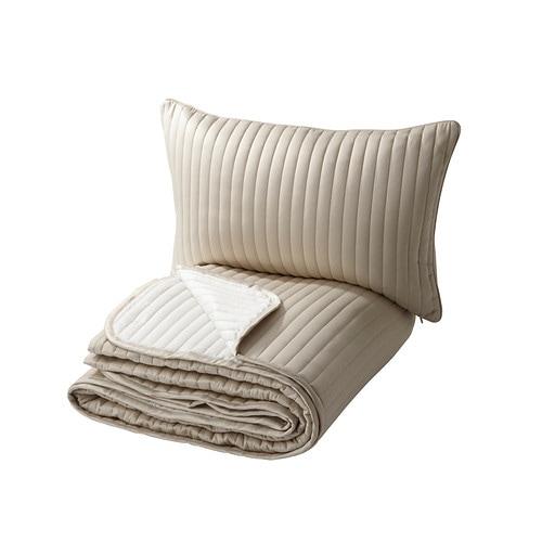 Karit couvre lit et housse de coussin 180x280 40x65 cm for Housse de rangement ikea