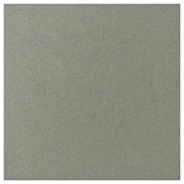KLUBBUKT Porte, gris vert, 60x60 cm