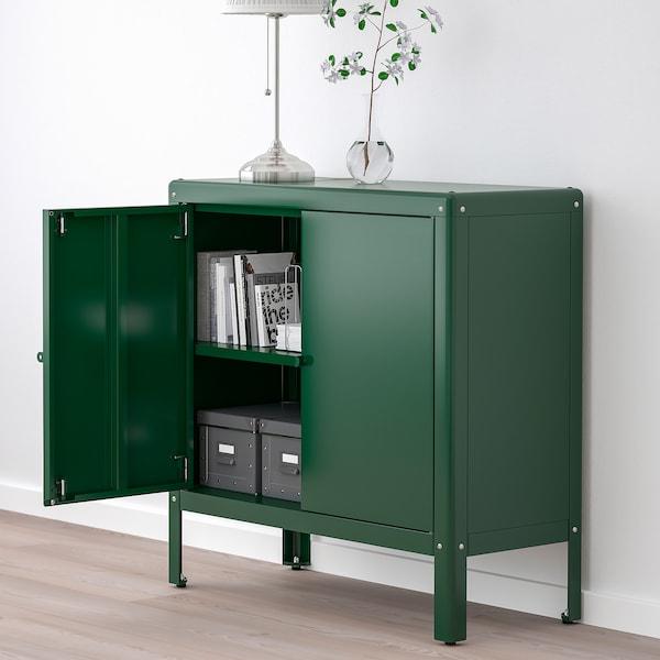 KOLBJÖRN Élément rangement int/extérieur, vert, 80x81 cm - IKEA Suisse