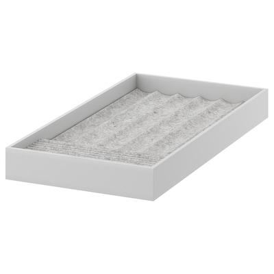 KOMPLEMENT Rangement pour bijoux, gris clair, 25x53x5 cm