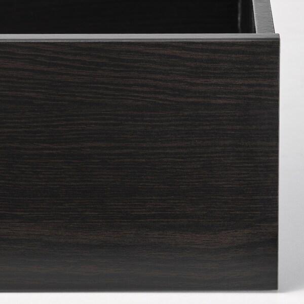 KOMPLEMENT Tiroir, brun noir, 50x58 cm