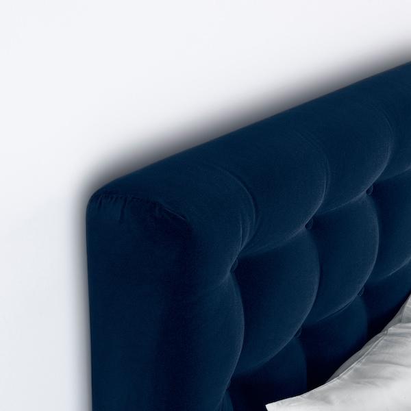 KONGSFJORD lit/sommier Hyllestad ferme/Tustna Djuparp vert-bleu foncé 217 cm 180 cm 139 cm 200 cm 180 cm