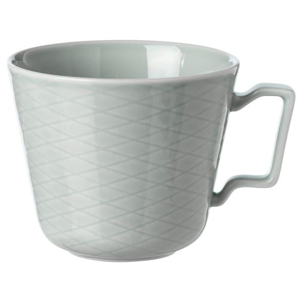 KRUSTAD Mug, gris clair, 40 cl