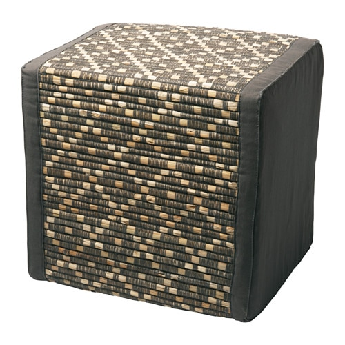 kryddad pouf ikea. Black Bedroom Furniture Sets. Home Design Ideas
