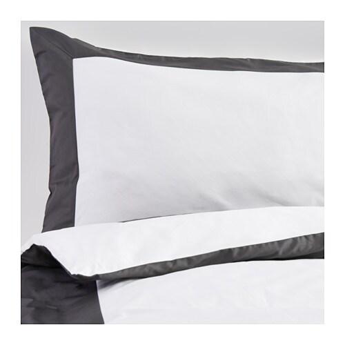 kuddflox housse de couette et taie 150x200 50x60 cm ikea. Black Bedroom Furniture Sets. Home Design Ideas