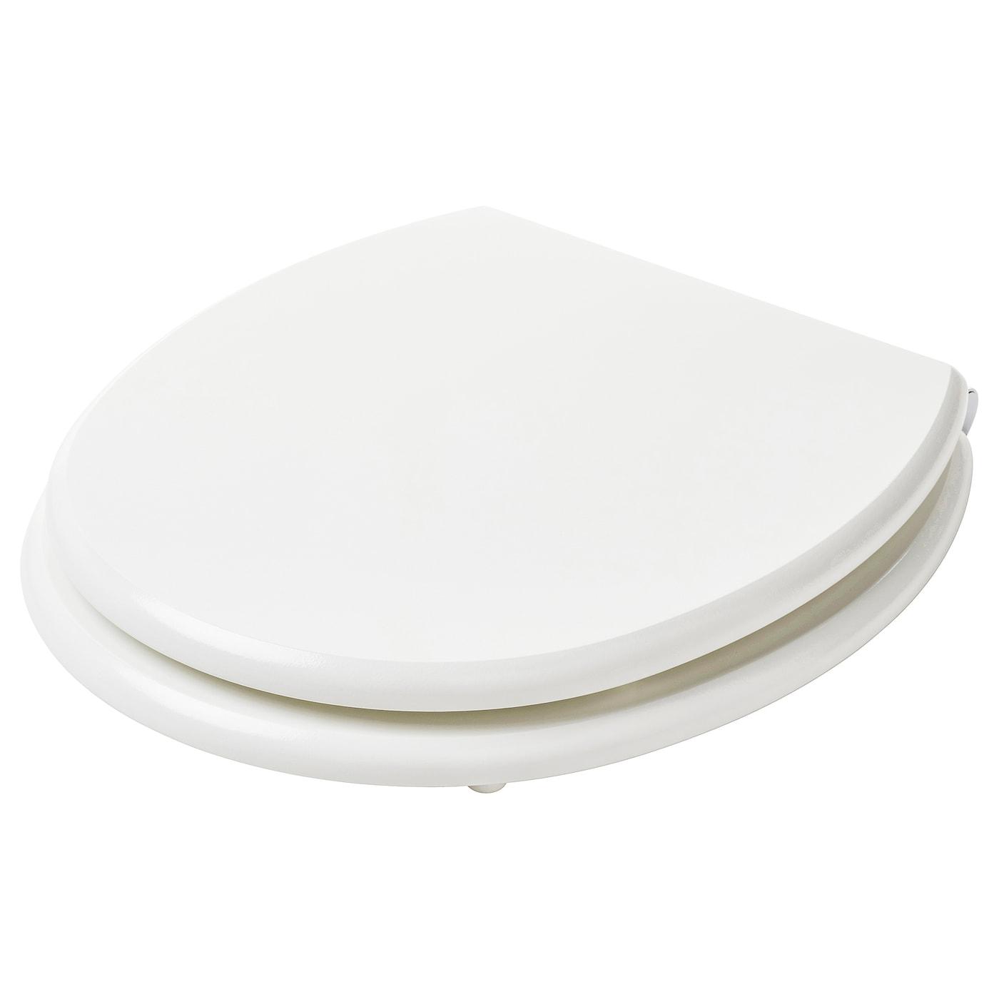 Meuble Dessus Toilette Ikea kullarna abattant wc - blanc