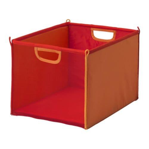 kusiner rangement tissu rouge orange ikea. Black Bedroom Furniture Sets. Home Design Ideas