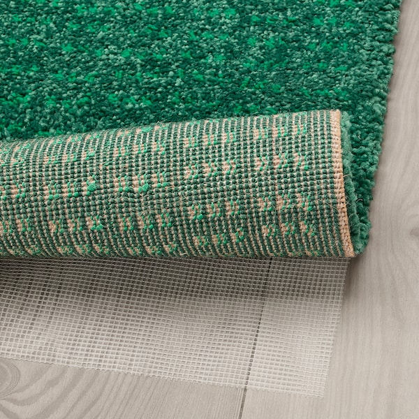 LANGSTED Tapis, poils ras, vert, 133x195 cm