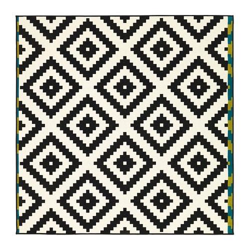 lappljung ruta tapis poils ras ikea surface plane facile entretenir avec un aspirateur - Tapis Color Ikea