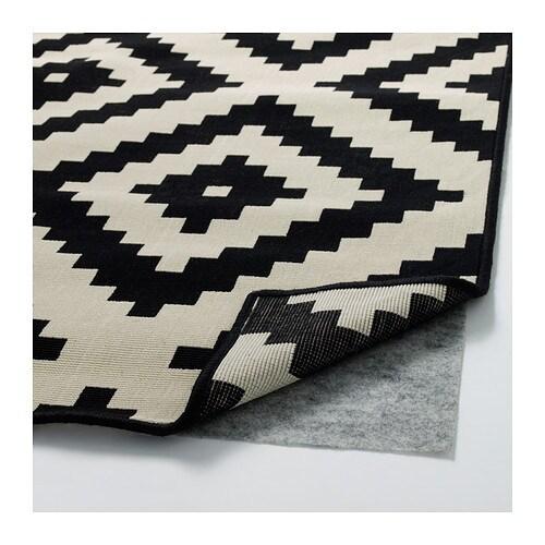 lappljung ruta tapis poils ras 200x200 cm ikea - Tapis Color Ikea