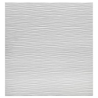 LAXVIKEN Porte, blanc, 60x64 cm
