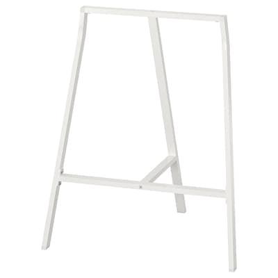 LERBERG Tréteau, blanc, 70x60 cm