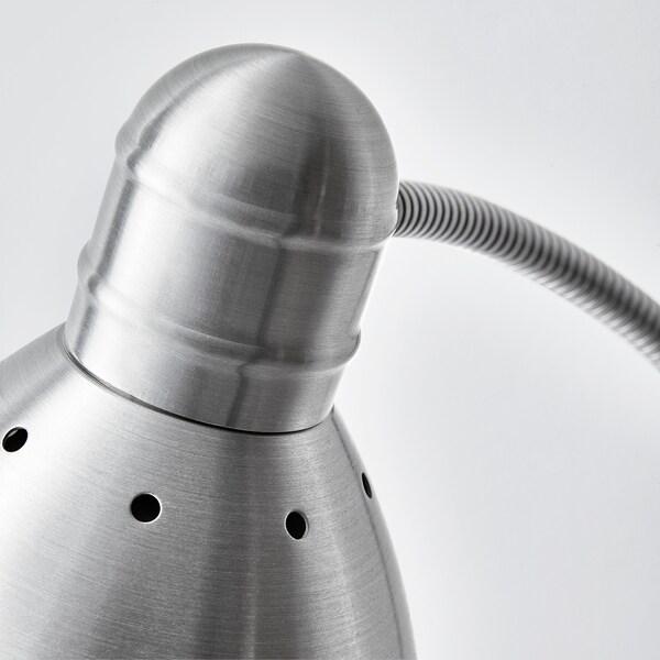 LERSTA Lampadaire/liseuse, aluminium