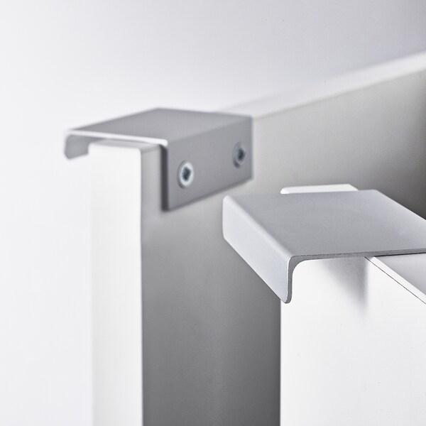 LILLÅNGEN Élément lavabo à 2 portes, blanc, 60x38x66 cm