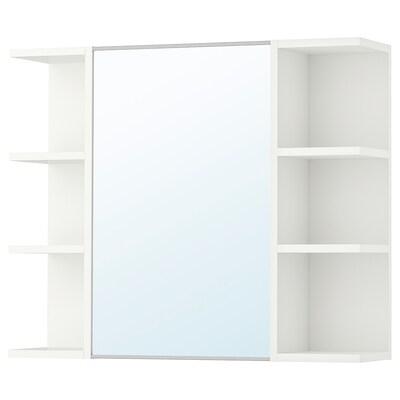 LILLÅNGEN élément miroir 1pte/2étag fin blanc 78 cm 21 cm 64 cm