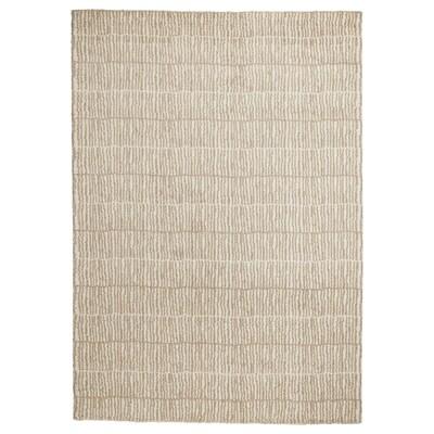 LINDELSE Tapis, poils hauts, écru/beige, 170x240 cm