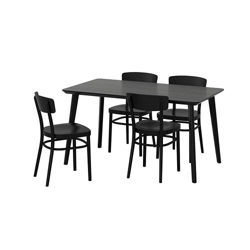 Lisabo idolf table et 4 chaises ikea - Ensemble salle a manger ikea ...