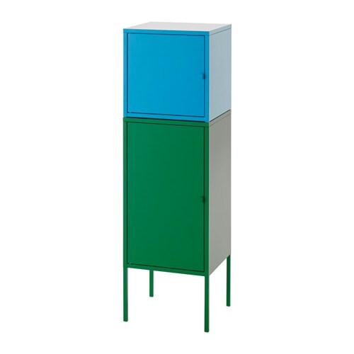 lixhult combinaison de rangement vert bleu ikea. Black Bedroom Furniture Sets. Home Design Ideas
