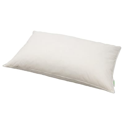 LUNDGRÖE Oreiller, blanc, 65x100 cm