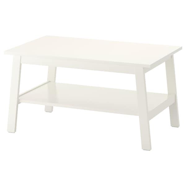 LUNNARP Table basse, blanc, 90x55 cm