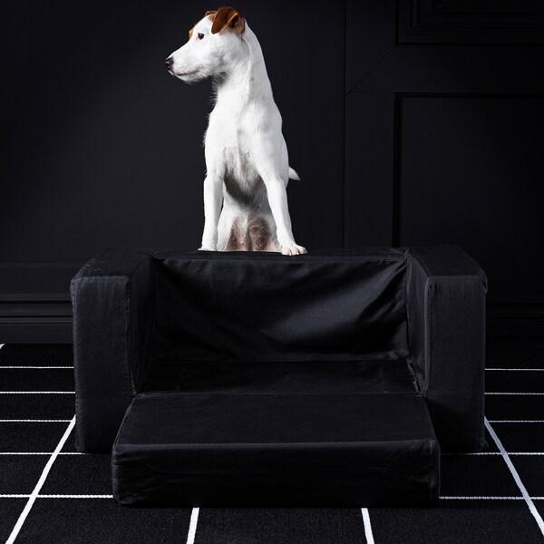 LURVIG Lit pour chat/chien, noir, 68x70 cm