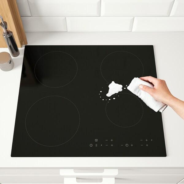 MATMÄSSIG table de cuisson induction noir 59.0 cm 52.0 cm 5.1 cm 12.00 kg